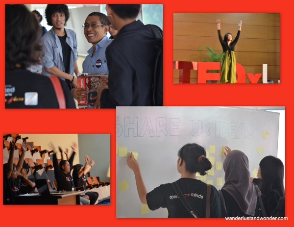 First TEDx Event at Universitas Indonesia