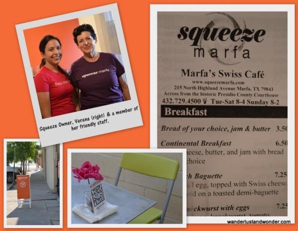 A Swiss Cafe in Marfa