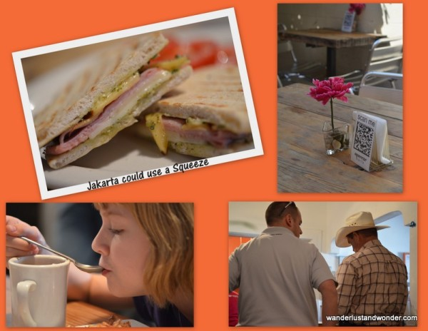 A Swiss Cafe in Marfa, Texas