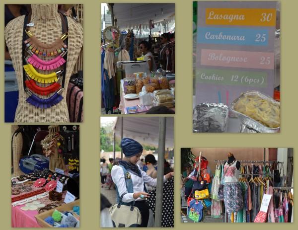 Flea Market Shopping in Jakarta