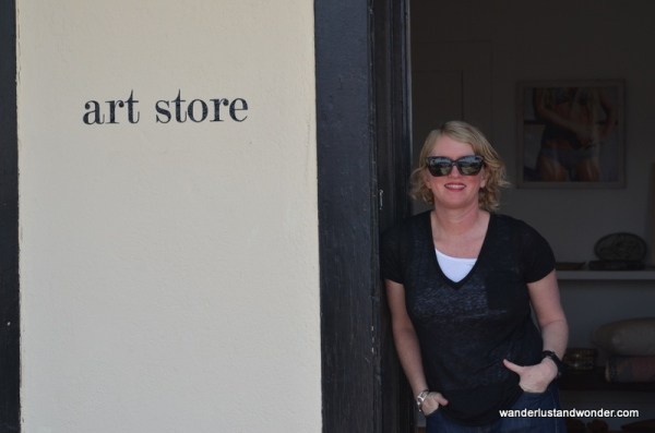 The Wrong Art Store, Marfa Texas