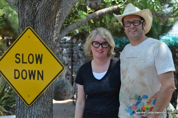 Artists in Marfa Texas
