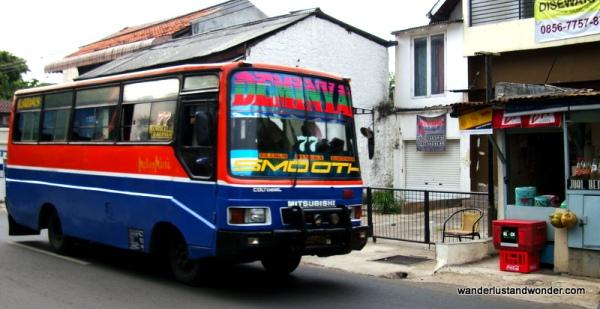 A bus in Jakarta