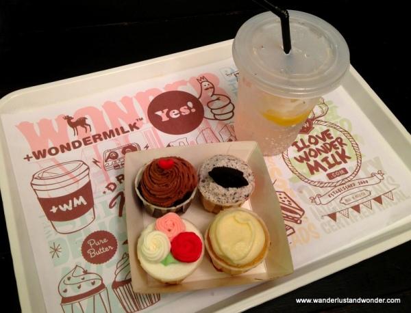 Treats at Wondermilk Cafe