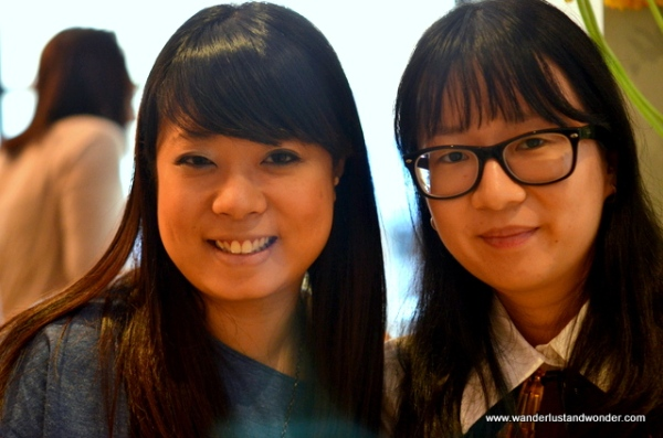 Creative Director, Eleanor Ng  (left) and Cheri Loh