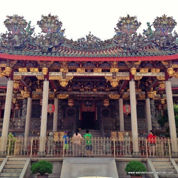 "The Khoo Kongsi Leong San Tong  clan house was built over 100 years ago.  It's a definite ""must see."""
