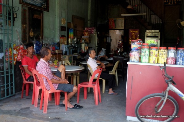 "Residents of Ipoh's ""Ghost Town"""