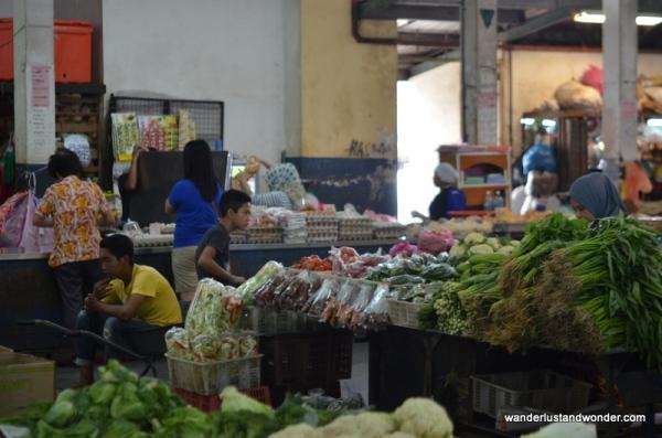 Sandikan market